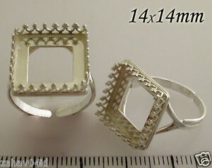 14mm-Shiny-Sterling-Silver-925-Quality-Cast-Square-Bezel-Cup-Ring-Setting-8866SH