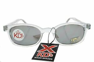 4f6a06ab3d X KD s Sunglasses Original Biker Shades Clear Frame Mirror Lens ...