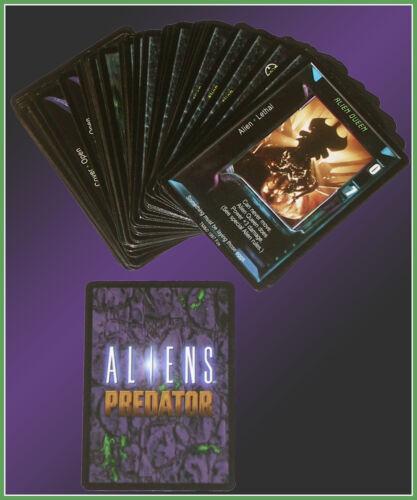 Alien vs Predator CCG Collectible Card Game Aliens Starter Set 51 Cards Unused