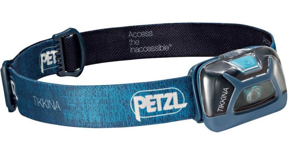 TIKKINA LED Head Torch, bluee -  PETZL  100% price guarantee