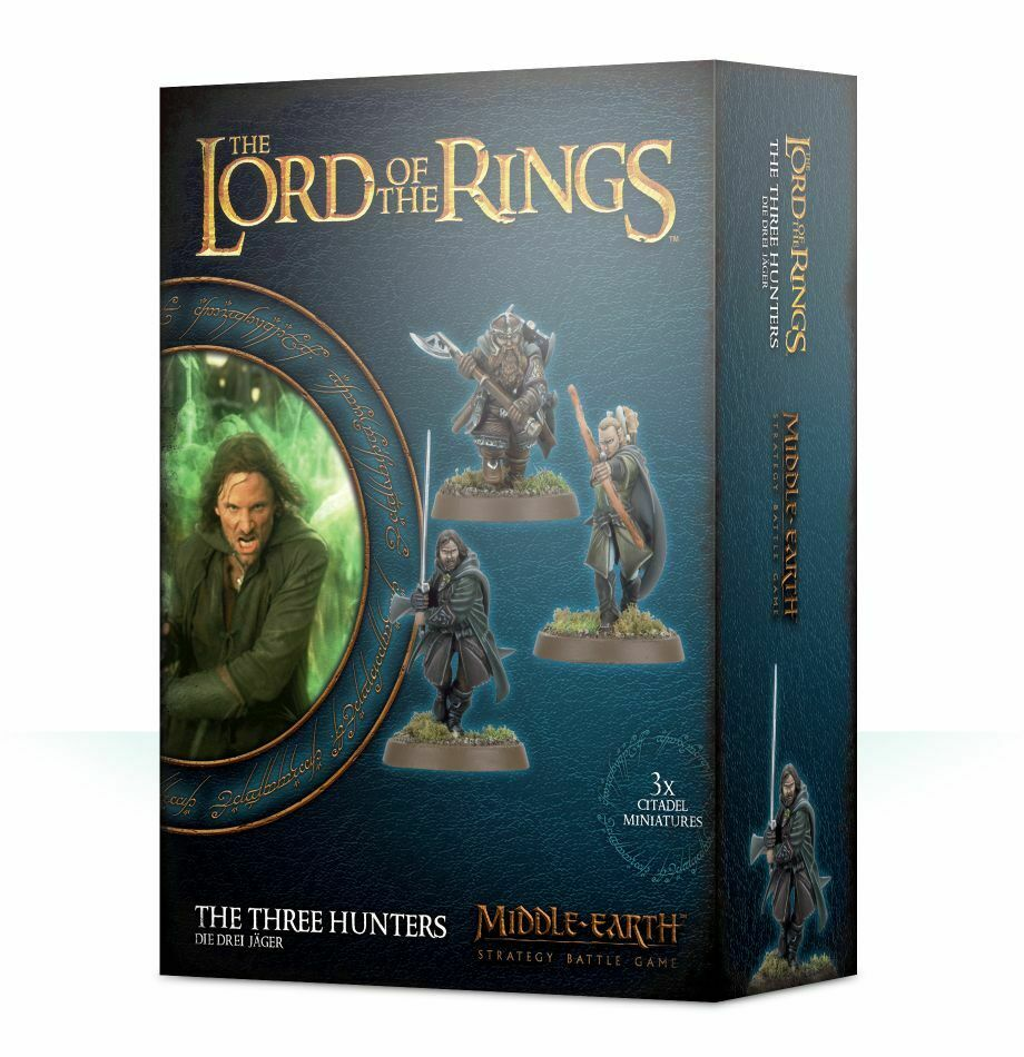 Lord of the Rings Die Drei Jäger Games Workshop Middle Earth Mittelerde Hobbit