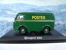 1/43  Norev   Peugeot D3A Post
