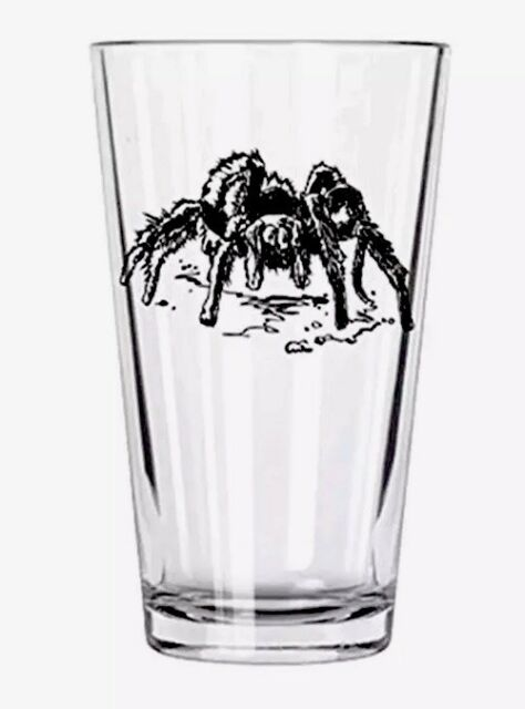Clear Corkology Wolf Pint Glass
