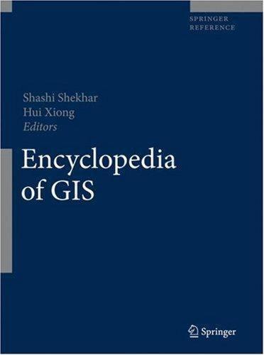 Springer Reference: Encyclopedia of GIS (2007, Hardcover)