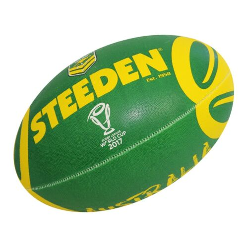 **SPECIAL** Steeden Rugby League World Cup 2017 Supporter Ball  (11 Inch)