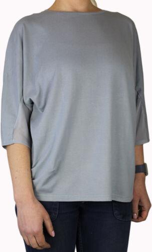 """Shirt  /"""" Mix /& Relax /""""  DO32  Gr Schiesser Damen Schlafanzug Pyjama 46 3XL"""