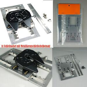 Metal-placa-sillin-modelo-schleifkugel-para-1-14-Tamiya-trucks-DIY-accesorios-del-automovil