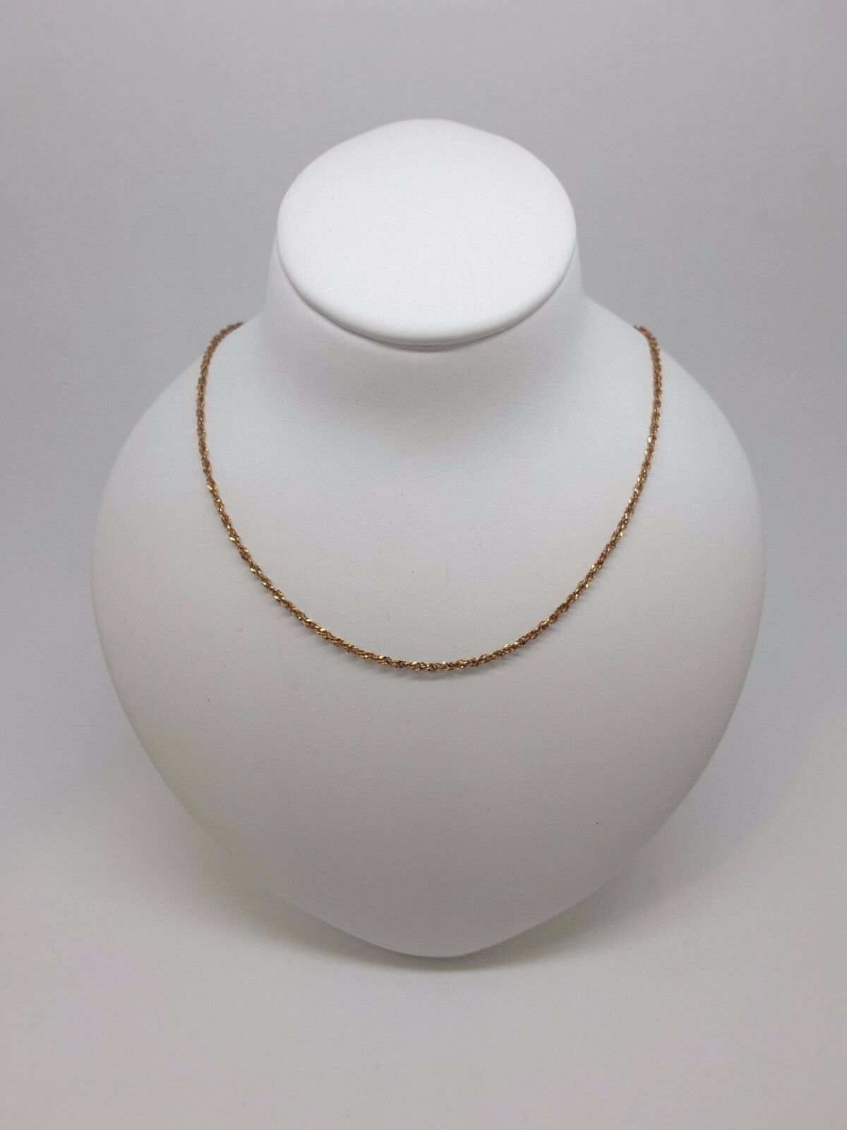 Miran 150049 Solid gold Chain 9ct Singapore 45cm 1.5g RRP  165
