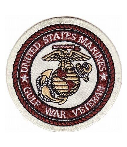 Military Vet Patches Marines Gulf War Veteran Patch