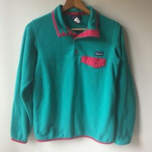 a1547308ff Image is loading Patagonia-Womens-Lightweight-Synchilla-Snap-T-Fleece- Pullover-