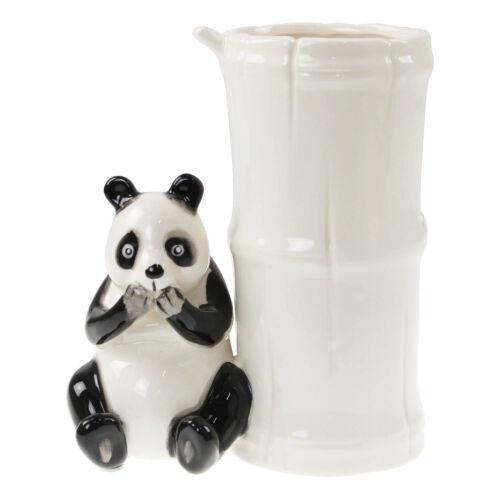 Blanc Céramique Panda Vase Jardiniere Pot Table Mariage Pièce Centrale Décoration