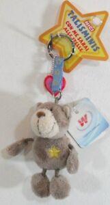 NICI- P.chiavi con orso beige e stella - cm.7