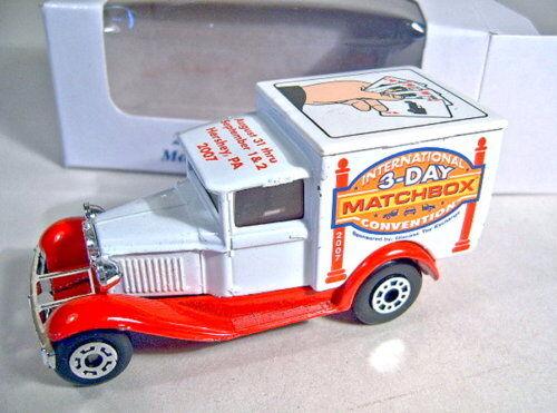 MATCHBOX mb38 FORD MODEL  A  Van  MATCHBOX Hershey 2007  publicitaires Modèle