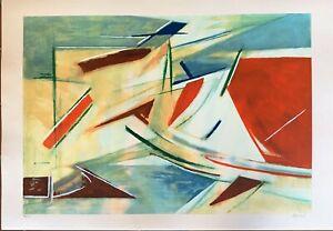 Armando-Pizzinato-litografia-Movimento-100x70-firmata-numerata-99-125-esemplari