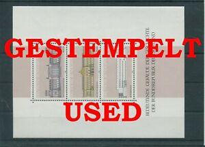 Germany-Federal-Frg-vintage-yearset-1986-Block-20-Postmarked-Used-More-Sh-Shop