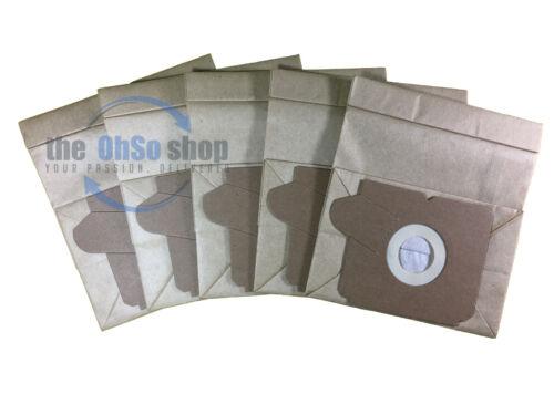 Z1905 5 x sacchetti per aspirapolvere ELECTROLUX E51 E51n e E65 di tipo-Boss Plus Z1036