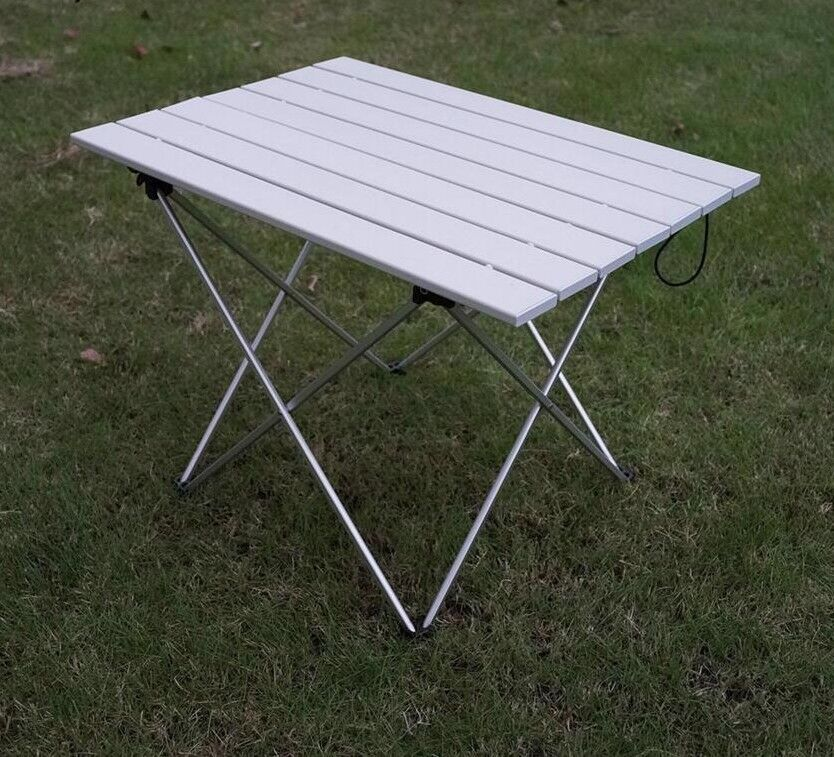 Portable Outdoor Folding Table Hiking  Camping Picnic Furniture Countryside Metal  outlet store