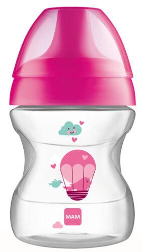 MAM Trinklernbecher Trinkbecher Learn To Drink Cup Fashion 190ml *NEU*