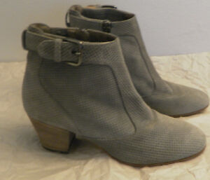 dfdc246ea324b Image is loading NEW-Womens-Vero-Cuoio-Aquatalia-Suede-Ankle-Boots-