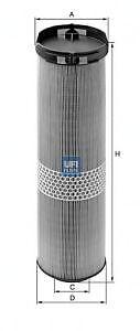 211.016 Filtro aria UFI 27.585.00 MERCEDES-BENZ CLASSE E W211 E 270 CDI