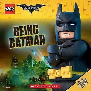 Being-Batman-Lego-The-Batman-Movie-by-NEW-Book-FREE-amp-Fast-Delivery-Paper