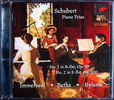 Jos van IMMERSEEL: SCHUBERT Piano Trios Anner BYLSMA Vera BETHS CD Klaviertrios