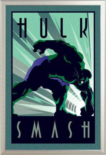 5cm Marvel DECO HULK Cartoon Comic Poster Poster Printing Size 61x91
