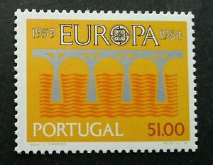 SJ-Portugal-Europa-Bridge-25th-Anniversary-Of-CEPT-1984-stamp-MNH
