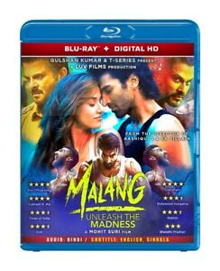 Malang Hindi Bollywood New Movie Blu Ray Disk With English Subtitle Ebay