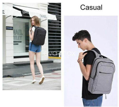 Men USB Charging Business Backpack Waterproof  School Laptop Rucksack Travel bag