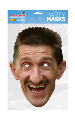 Barry Chuckle Face Party Mask Card A4 Fancy Dress TV Brothers Ladies Men Kids