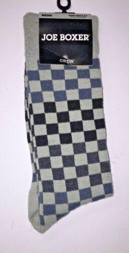 JOE BOXER Men/'s Crew Socks