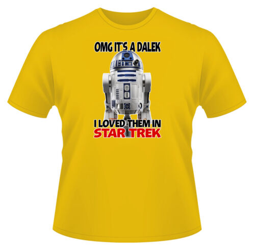 OMG Its A Dalek Ideal Gift or Birthday Present. Mens Funny T-Shirt