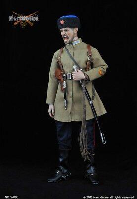 "Marsdivine S-003 1//6 Scale WWII Soviet Cossack Cavalry Coat+Pant For 12/"" Figure"