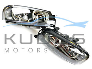 Headlight-Set-to-suit-Nissan-Skyline-R34-GTR-Series-1-01-1999-08-2000-Xenon