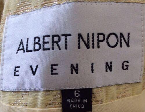 Giacca donna Euc Nipon donna da cotone da in Albert taglia blazer 6 giallo misto frfxvq