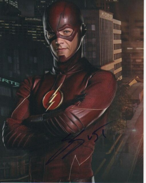 Grant Gustin The Flash Autographed Signed 8x10 Photo COA w/proof #4