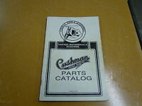 Used Cushman Parts Catalog Scooters Motorbikes 1993