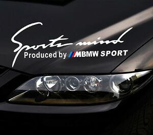 Reflect Headlight Sports Mind Decal Vinyl Car Stickers For BMW - Sporting car decals
