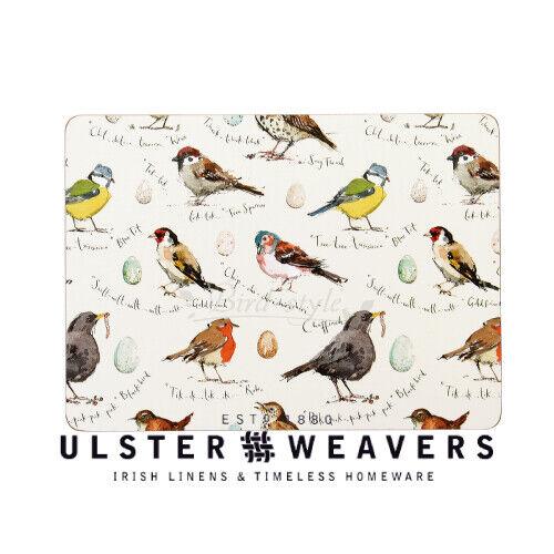 Ulster Weaver Bird Song Set of 4 Placemats