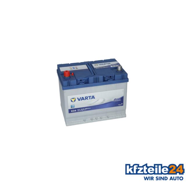 Varta | Starterbatterie BLUE Dynamic (5704130633132) für u.a. VW, Opel, Peugeot,