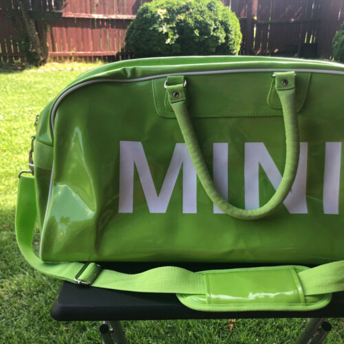 Lime Green Mini Cooper Travel Bag