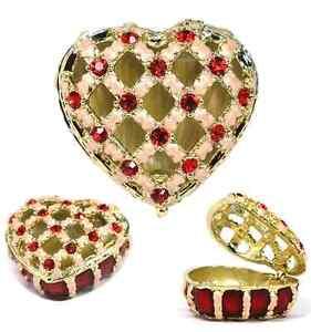 Pink-Ribbon-Heart-Trinket-Box-w-Red-Austrian-Crystals