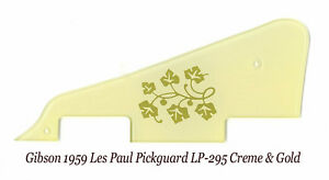 Les Paul LP 3-Ply Cream Pickguard 3-Pickup made for Gibson W//Bracket Project NEW