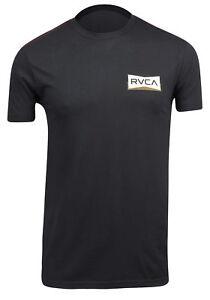 RVCA-Mens-VA-Sport-Rereds-T-Shirt-Black