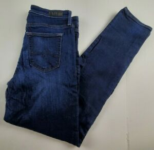 AG-Adriano-Goldschmied-Womens-Jeans-Sz-28-The-Prima-Mid-Rise-Cigarette-Denim