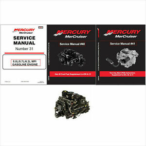 mercruiser 31 5 0l 5 7l 6 2l mpi engine service repair manual rh ebay com 5.7 Mercruiser Engine Specifications Mercruiser 5.7L MPI