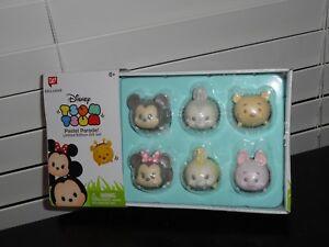 EXCLUSIVE GLITTER PASTEL FIGURES 6 pack 1-Inch Minifigure Target Exclusive Disney Tsum Tsum