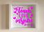 IKEA ribba Box cadre personnalisé Vinyle Mur Art Citation enseigner l/'amour Inspire