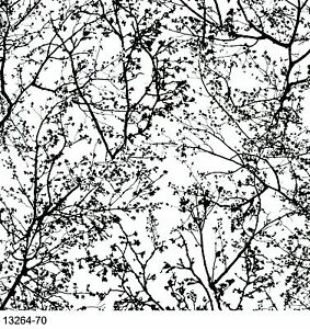 graphics alive tree black white wallpaper 13264 70 ebay. Black Bedroom Furniture Sets. Home Design Ideas